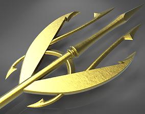 3D print model Meras Trident from the Aquaman comic books