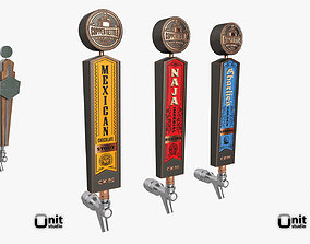3D Beer Tap Collection 11 Pieces