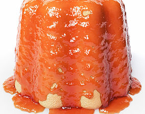 Cake in Jam 4 3D model