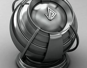 3D model VRAY SHADER---METAL---Gallium Antimonide