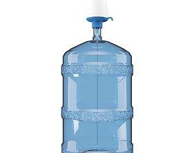 3D Dispenser water barrel
