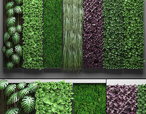 3D Vertical gardening collection