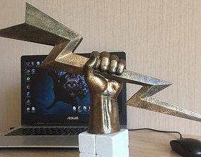 3D printable model Hand of Zeus