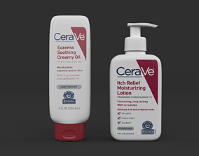 CeraVe Itch Relief Moisturizing Lotion 3D