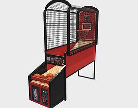 3D model Low Poly PBR NBA Hoops