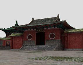 3D model Shaolin Temple