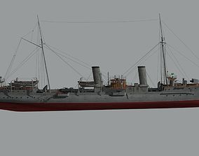 3D model Destroyer Casabianca
