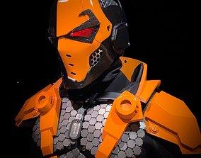 3D File-Deathstroke Black-Ops Helmet deathstroke