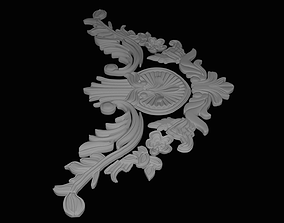 Stucco decoration 3D printable model
