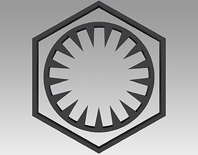 First Order Galactic Empire symbol 3D print model