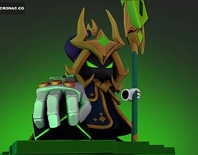 Final Boss Veigar - League of Legends 3D print model