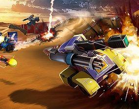 Tank Hero 2015 Pack 3D asset