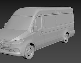 Mercedes-Benz Sprinter 2020 High roof on a small scale