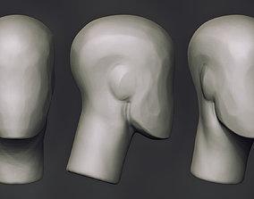 3D FREE Head Sketch BaseMesh