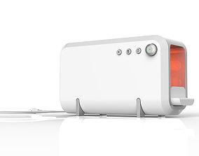3D Modern Toaster