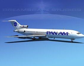 Boeing 727-200 Pan Am 2 3D