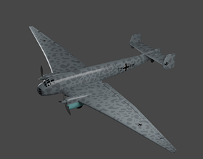 JUNKERS Ju86 R-1 Germanys U2 High Flying Spy 3D