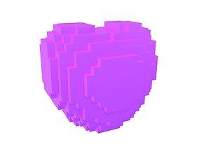 Voxel Heart v1 006 3D model