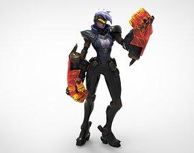 3D printable model PROJECT Vi - League of Legends