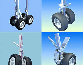 3D Landing Gears Collection