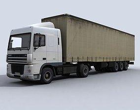 Transport Truck 3D asset