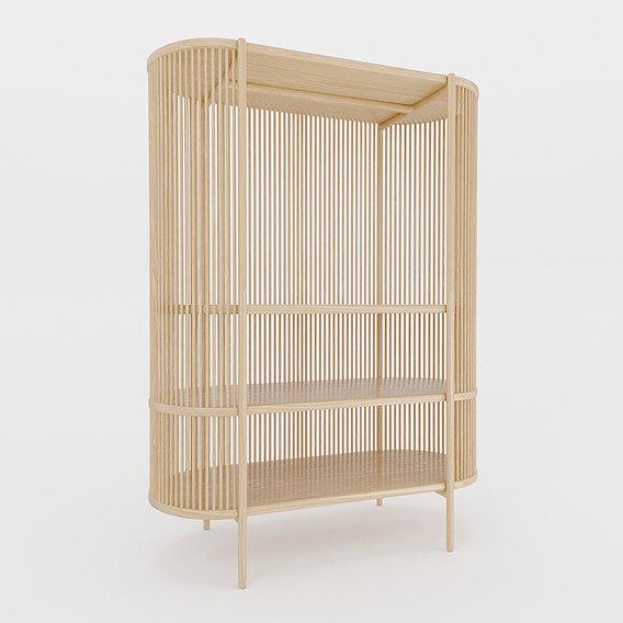 Bastone Cabinet Oak