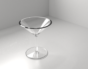 3D Wine Glass 5