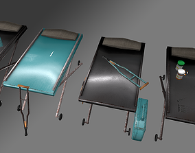 3D asset Medical material kit