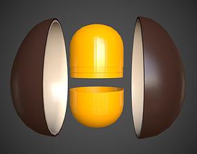 3D asset Surprise Egg