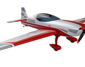 Extra NG Aerobatic Aircraft 3D