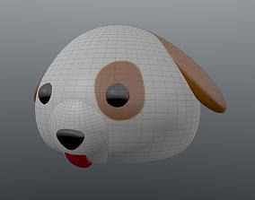 Emoji Dog 3D printable model
