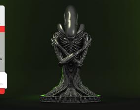 3D print model Alien Xenomorph Bust