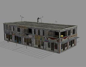 3D asset Arab City Building - Building D
