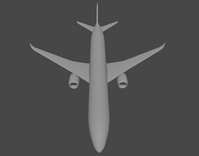 Boeing 787 family 3D asset