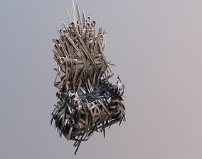 3D game of thrones seat