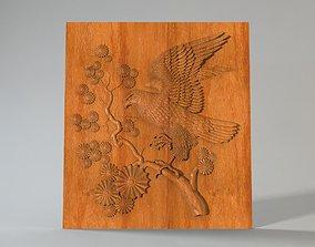3D printable model picture Falcon panel