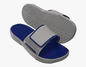 3D Men slides footwear sandals 01 v2