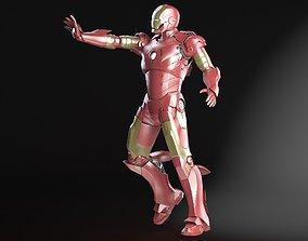 3D model Iron Man Tony Stark Rigged