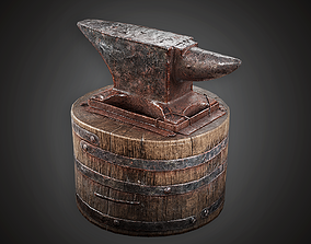 MVL - Blacksmith Anvil - PBR Game Ready 3D asset