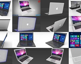 3D Dell Vostro v13 and Apple MacBook Air