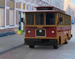 Trolley in obj format 3D model