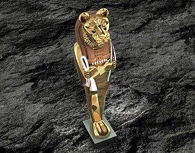 Ancient Egyptian Pharaoh 9 3D printable model
