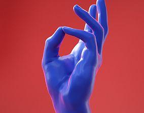 Male Hand 22 3D model