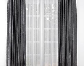silk 3D Curtain