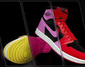Air Jordan 1 Retro High 3D asset