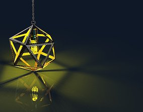 3D printable model Icosahedron Lamp accessories