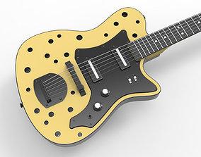3D Custom Holes Electric Guitar