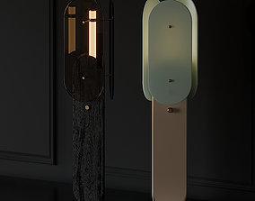Douglas and Bec ARCH Floor Lamp 3D