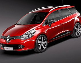 Renault Clio Estate 2013 3D