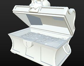 3D asset Clean Treasure Chest D180326